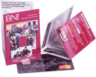 BNI Mini Invitations